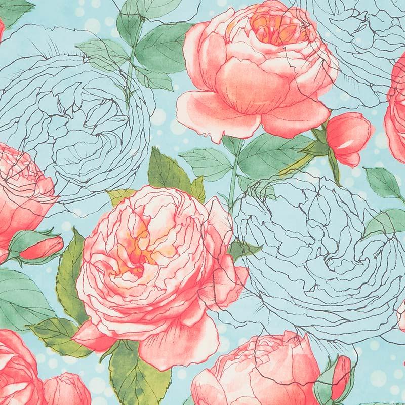 compteurtissu de coton FQcouture quilt craftwoodland Bunny Graisse rose trimestre