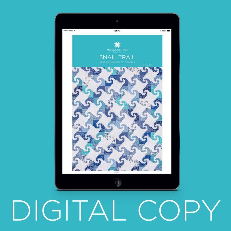 Digital Download Snail Trail Quilt Pattern By Missouri Star