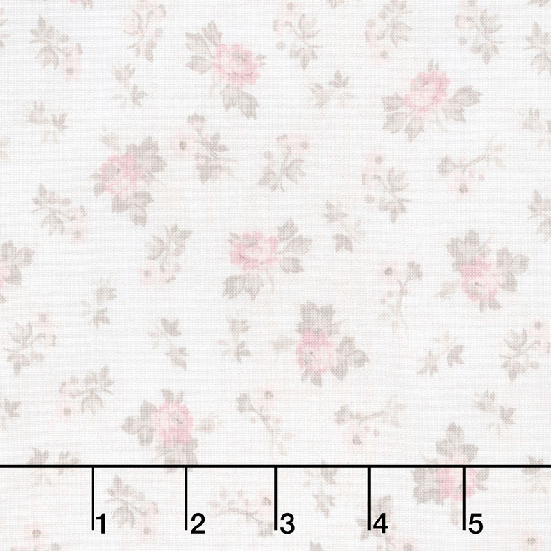 Rose Garden - Toss Cream Yardage