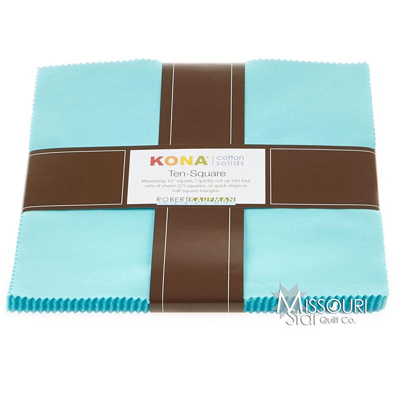 Kona Cotton - Bahama Blue Ten Squares