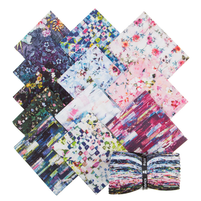 Fleur Couture Digitally Printed Fat Quarter Bundle