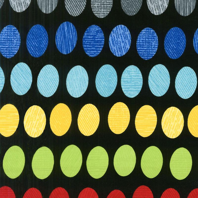 Oval Essence - Black Multi 108