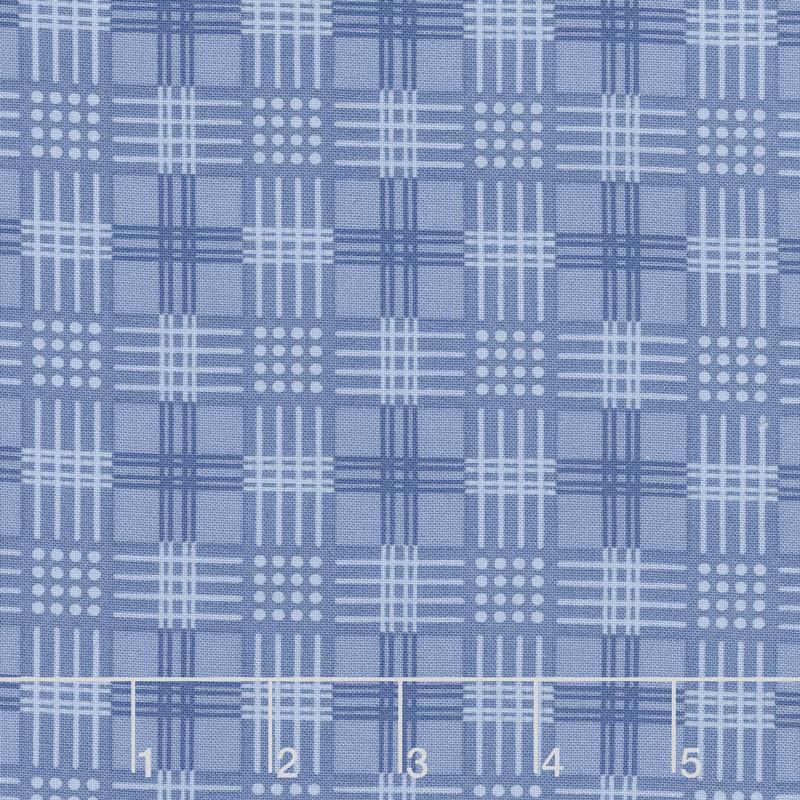 Regency Ballycastle Chintz 18th Century - Drumshanbo English Blue Yardage