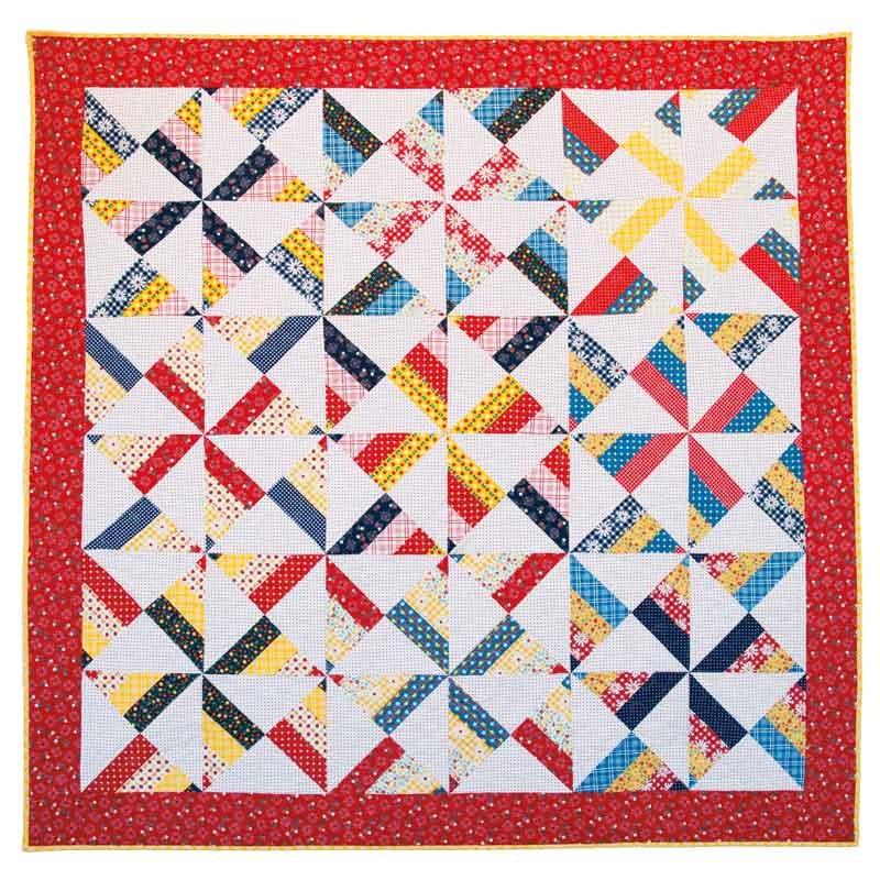 Amy Smart's Pinwheel Quilt Kit - Amy Smart - Riley Blake ... : missouri star quilting company - Adamdwight.com