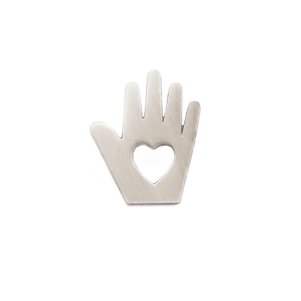 Heart In Hand Pin by Pin Peddlers