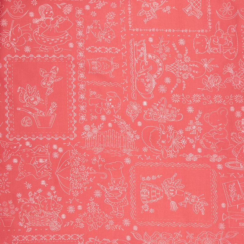 Granny Chic - Vintage Embroidery Pink 108
