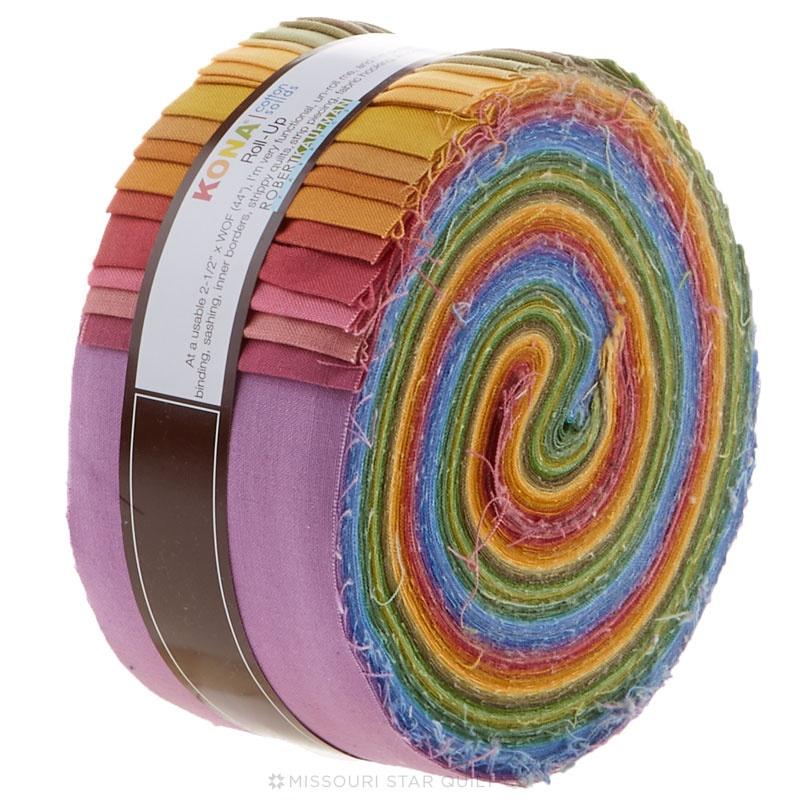 Kona Cotton - New Dusty Palette Roll Up