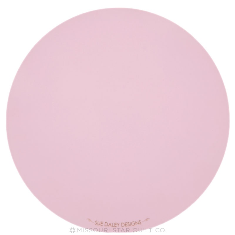 10 Quot Round Rotating Cutting Board Pink Sue Daley