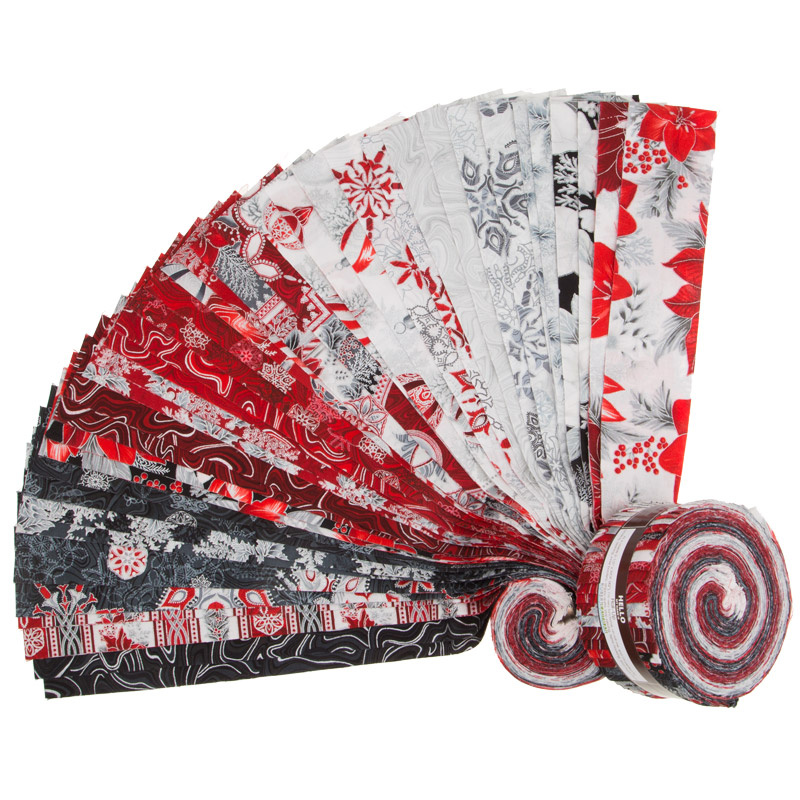 Holiday Flourish 11 Silver Metallic Roll Up