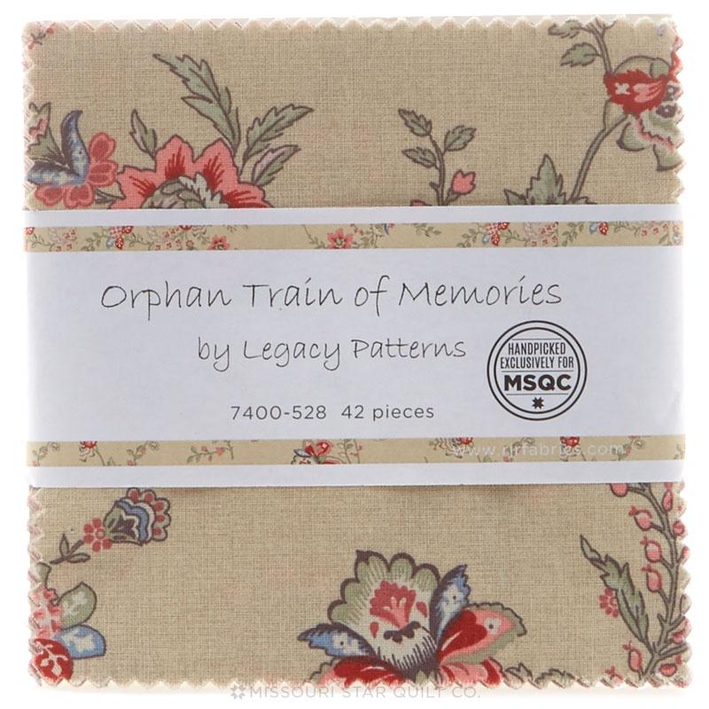 Orphan Train of Memories Charm Pack