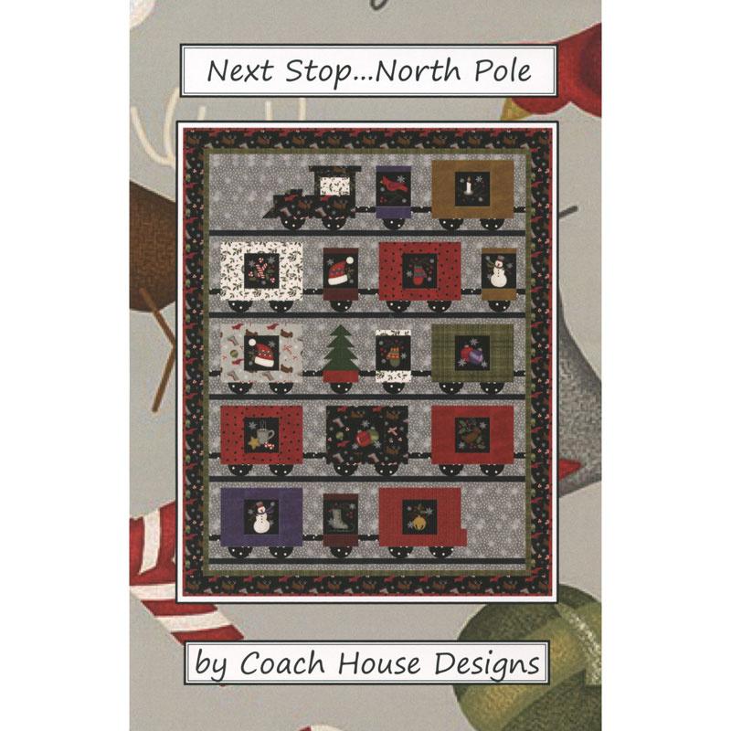 Next Stop North Pole Pattern Barb Cherniwchan Coach