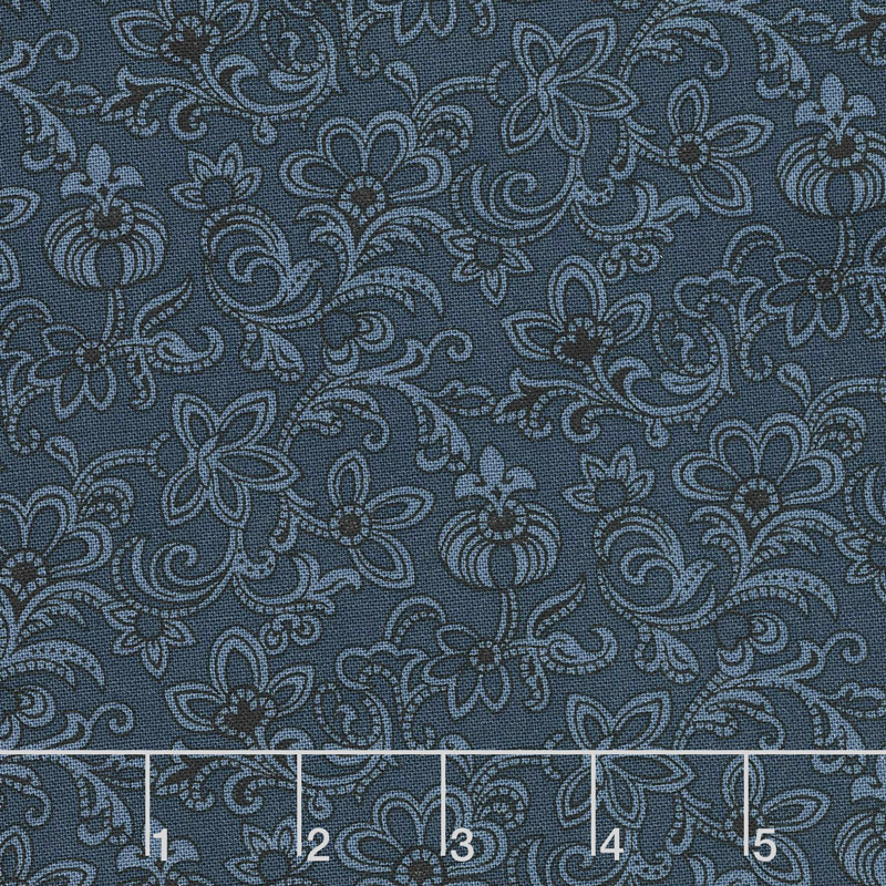 Mrs. Miller's Apprentice - Bess' Dress Navy Yardage