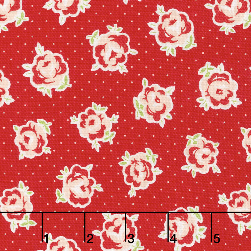 Smitten - Lovely Red Yardage