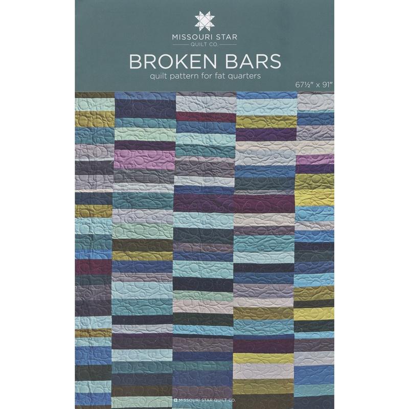Broken Bars Quilt Pattern By Missouri Star Shea Henderson
