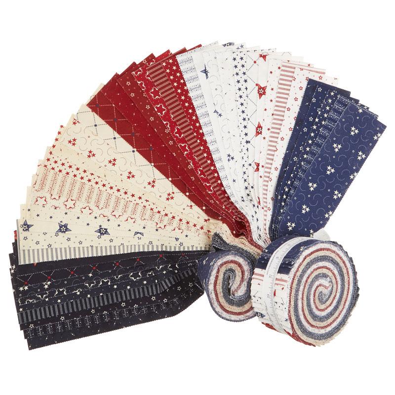 Star & Stripe Gatherings Jelly Roll