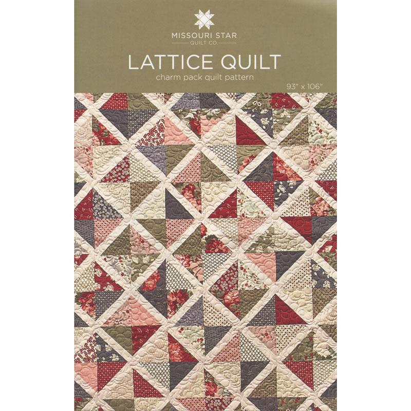 Lattice Quilt Pattern By Missouri Star Missouri Star Quilt Co