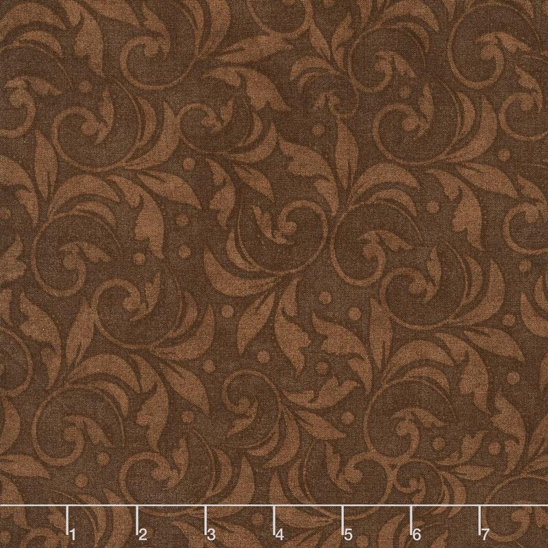 Wilmington Essentials - Vintage Scroll Brown 108