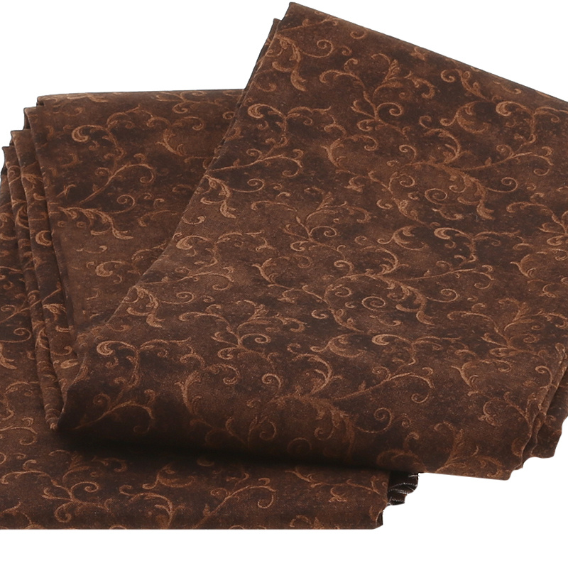 Wilmington Essentials - Filigree Chocolate 3 Yard Cut