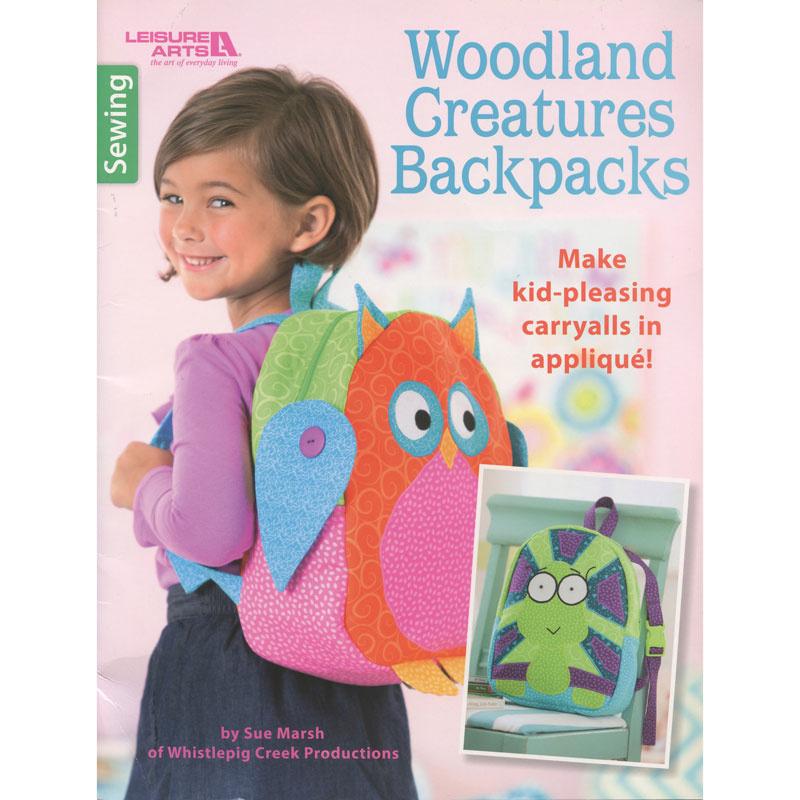 Woodland Creatures Backpacks Book