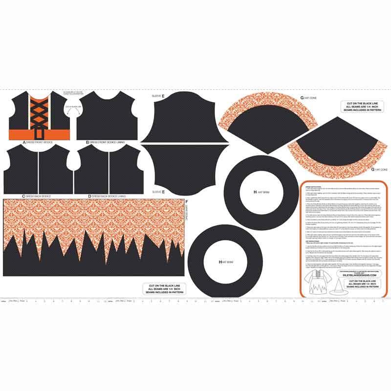 Eek Boo Shriek - Shriek Color Black Panel