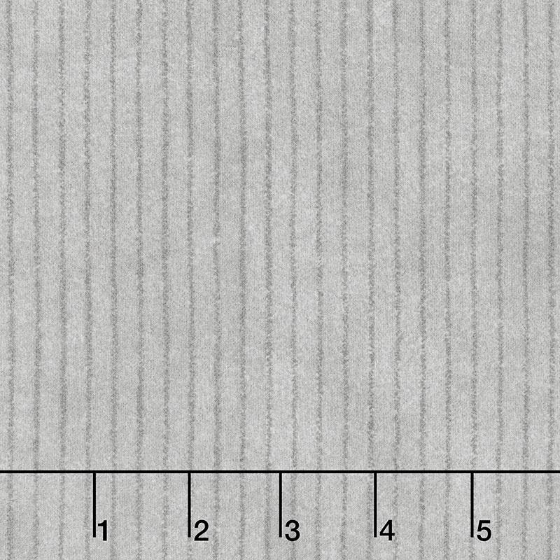 Woolies Flannel - Stripe Pewter