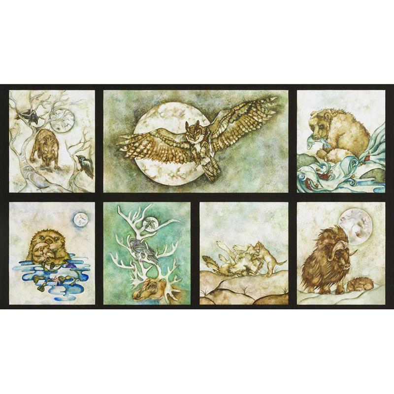 Wilderness Expressions - Animals Adventure Digitally Printed Panel