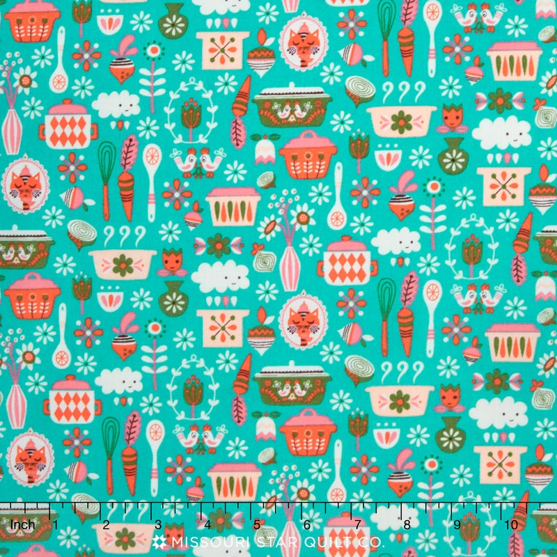 Vintage Kitchen Fabric Amazing Inspiration Design