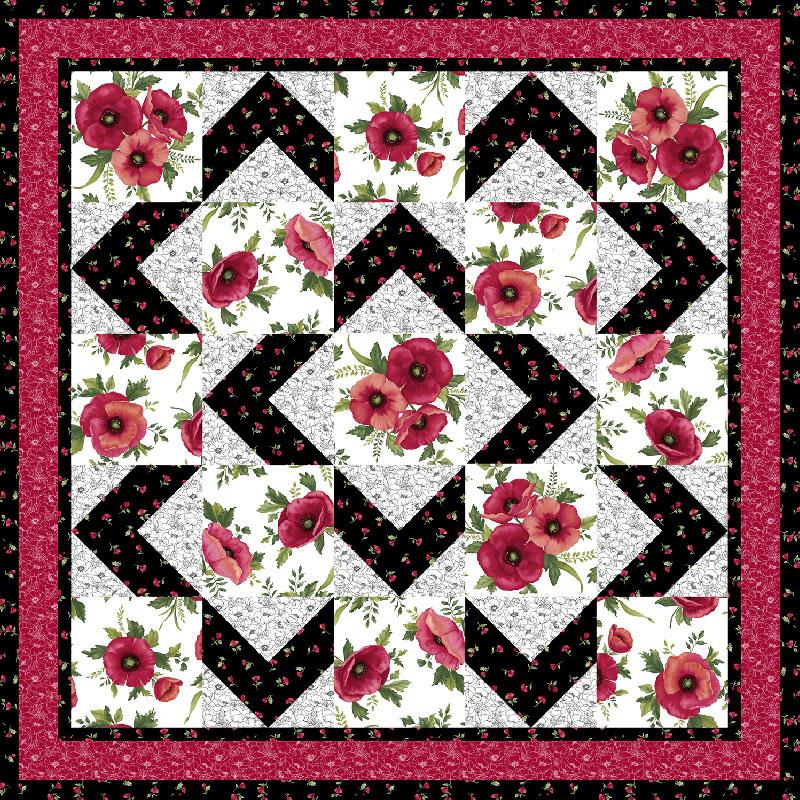 Walk About Quilt Pattern Ann Lauer Grizzly Gulch