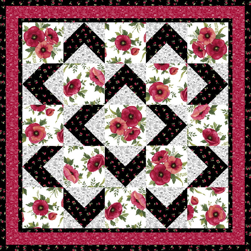 Walk About Quilt Pattern - Ann Lauer - Grizzly Gulch Gallery Missouri Star Quilt Co.