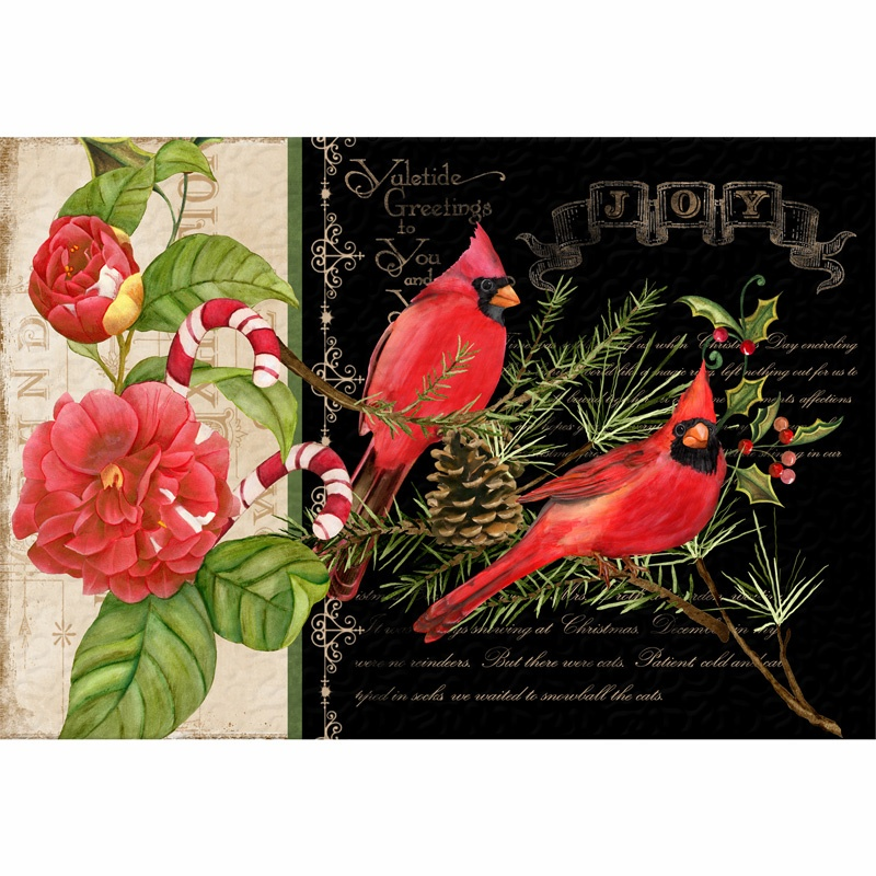Christmas in the Wildwood Place Mats Kit