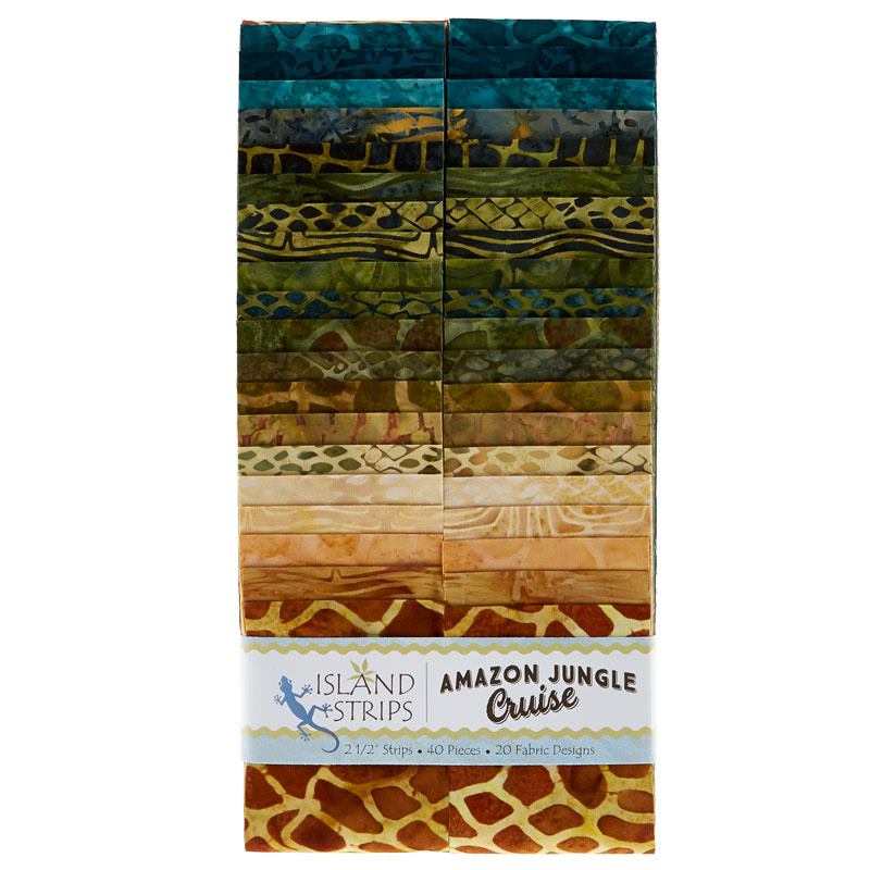 Amazon Batik Strip Box
