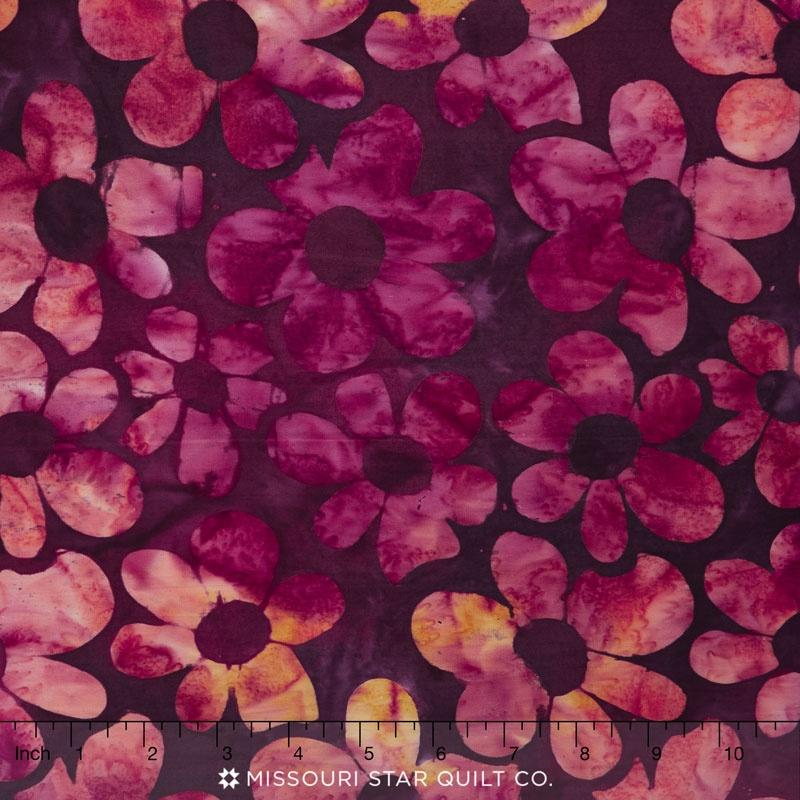 Artisan Batiks - Daisy's Garden 3 Daisy Rose Yardage