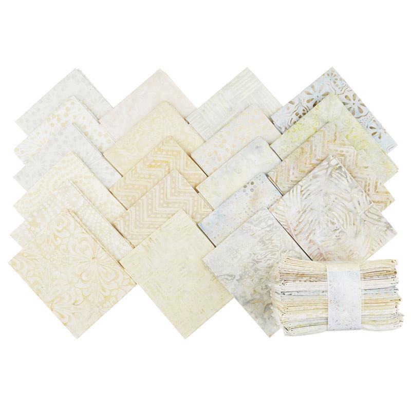 Cream of the Crop Batiks Fat Quarter Jewels