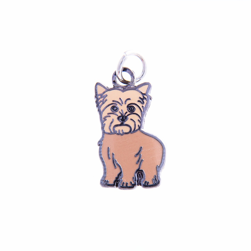 Terrier Charm Standing Brown