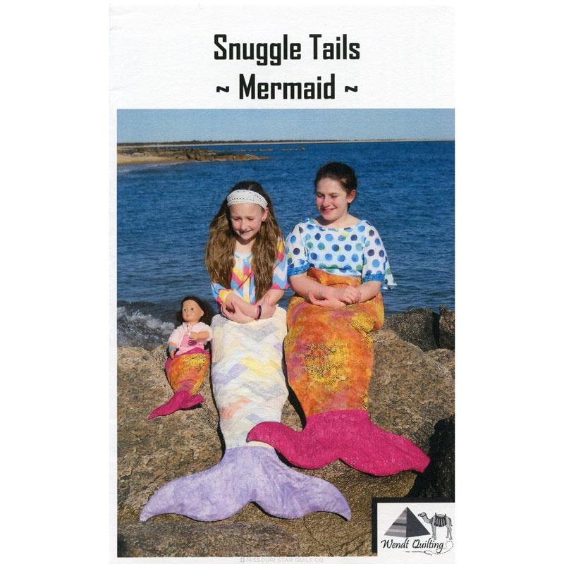 Snuggle Tails Mermaid Pattern