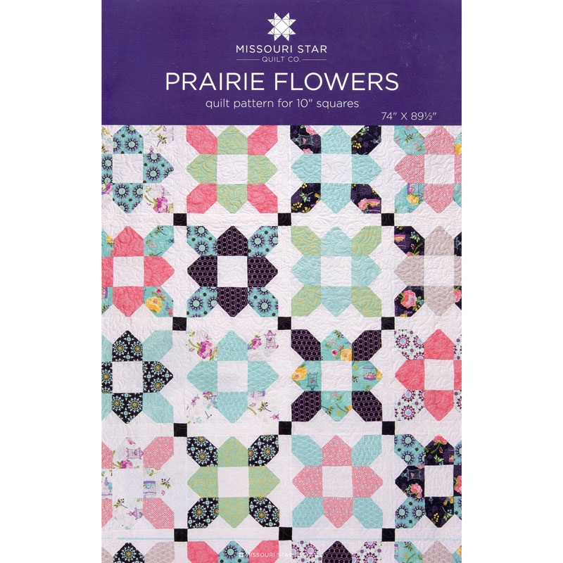 Prairie Flower Pattern by MSQC - MSQC - MSQC — Missouri Star Quilt Co. : prairie quilt patterns - Adamdwight.com
