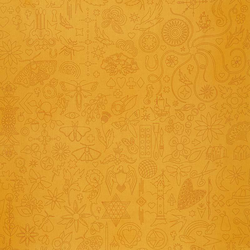 Sun Print 2020 - Embroidery Yarrow Yardage