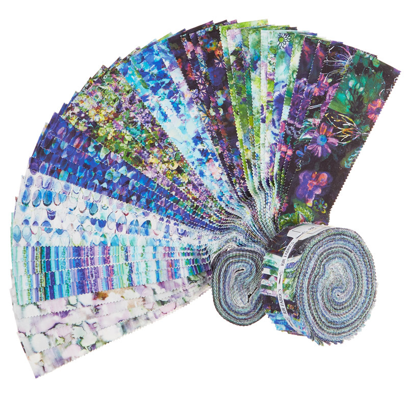 Fiorella Digitally Printed Pixie Strips