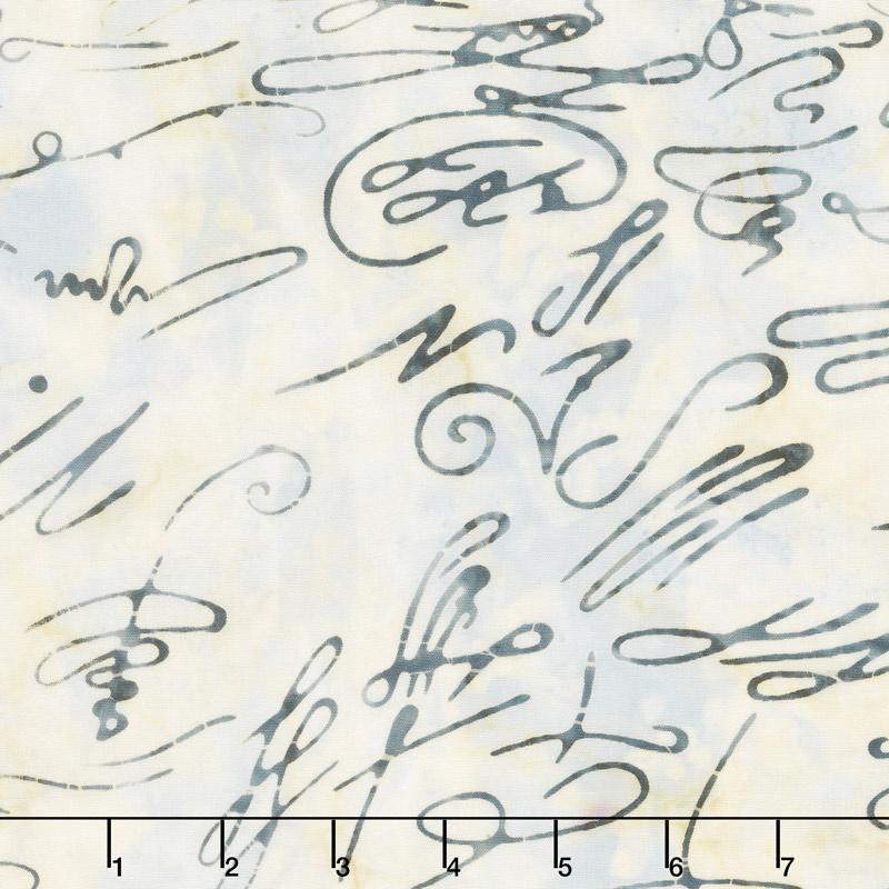 Signature Batiks - Chicken Scratch Invisible Ink Yardage