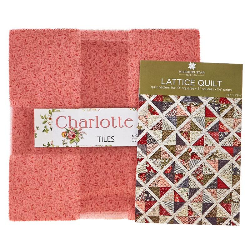 Pattern Precut Bundle Charlotte Tiles By Deborah Edwards And
