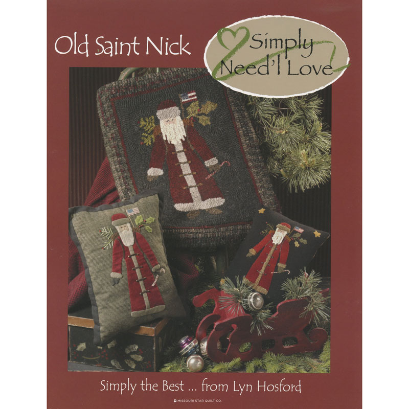 Old Saint Nick Simply Booklet
