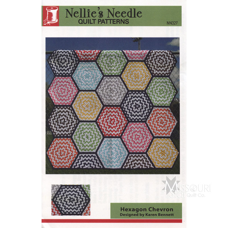 Hexagon Chevron Pattern