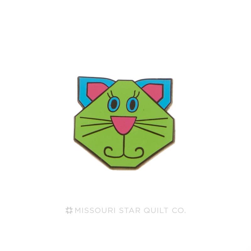 Cat Block Pin