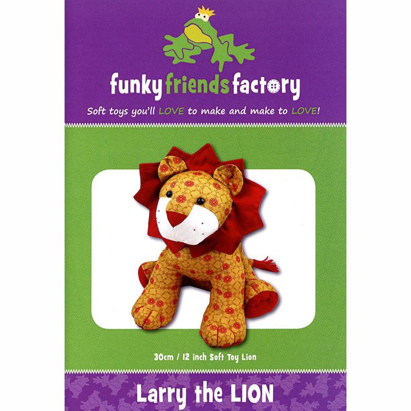 Larry Lion Funky Friends Factory Pattern