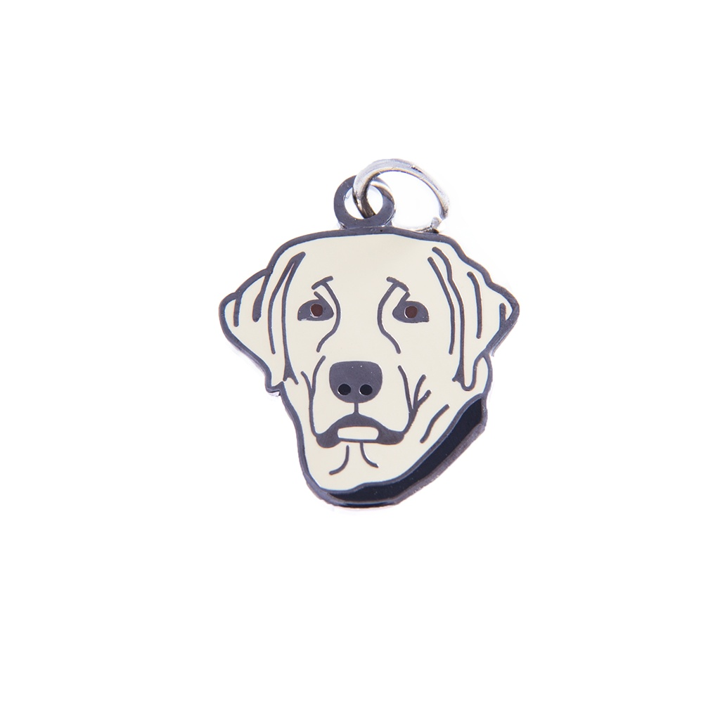 Labrador Retriever Charm - Yellow
