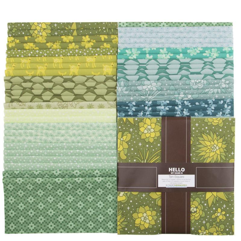 Terrarium Favorites Green Palette Ten Squares