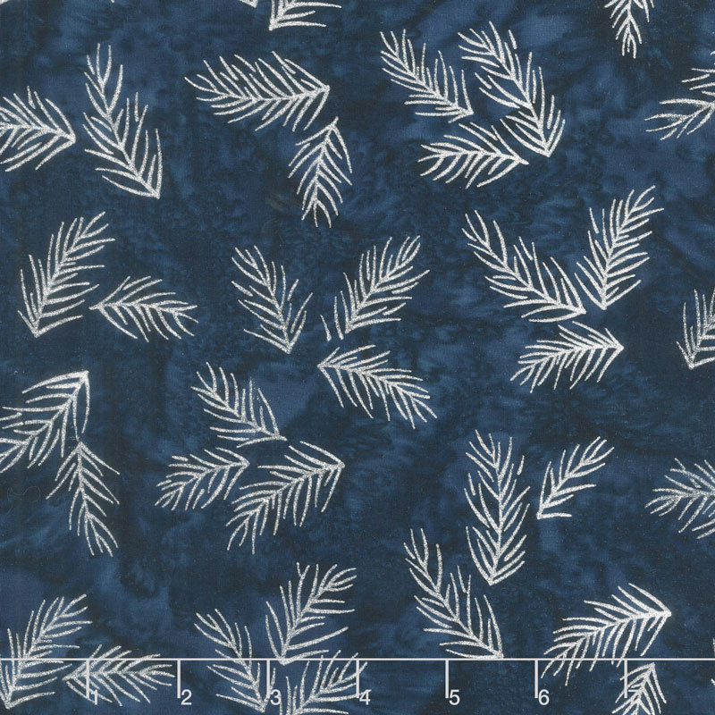 Artisan Batiks - Northwoods 8 Twigs Evening Metallic Yardage