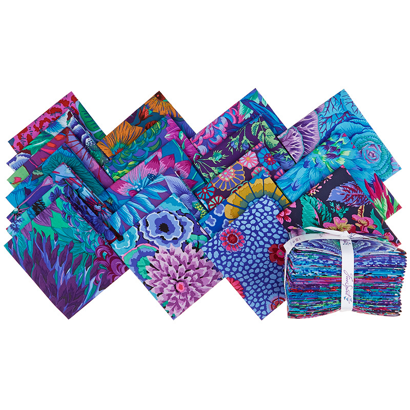 Kaffe Florals Blues Fat Quarter Bundle