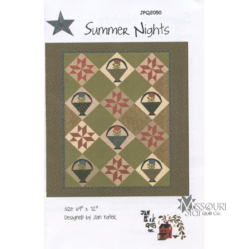 Summer Nights Quilt Pattern