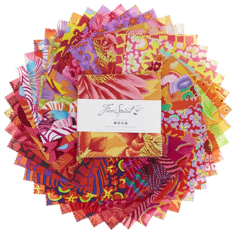 Kaffe Fassett Collective Spring 2019 Bright Charm Pack